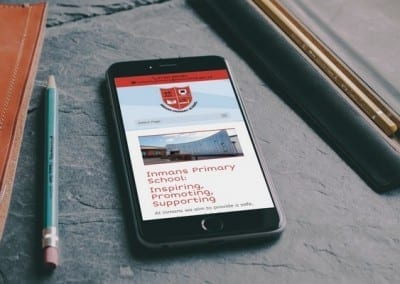 Primary School Responsive Website Design