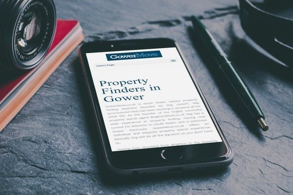 Property Search Agent Web Design
