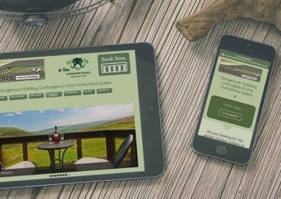 Holiday Cottage Lead Generating Website Design